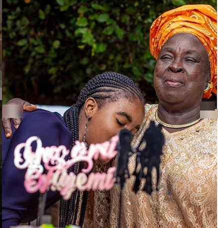 Film maker, Kunle Afolayan shares never seen photo of his look alike daughter, on her birthday