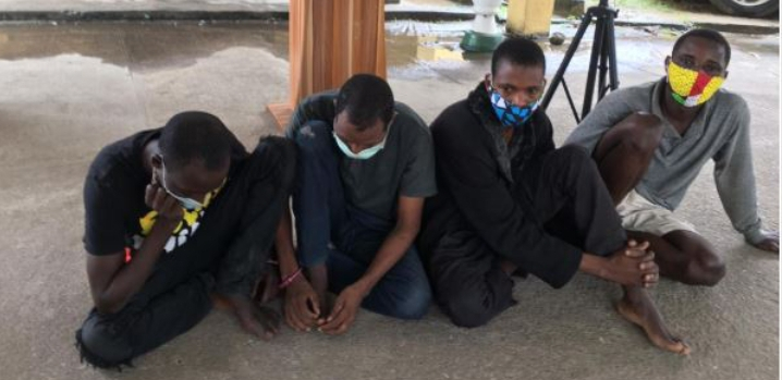 Kidnappers narrate how they abducted police officer, NSCDC officer and others