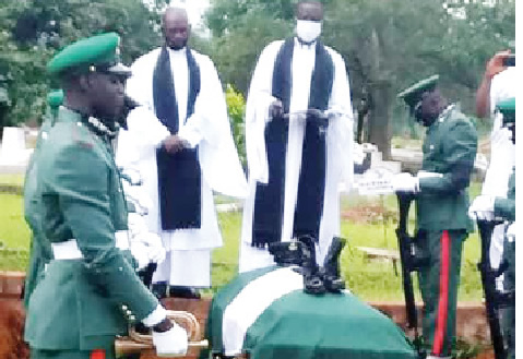 Nigerian Soldier tortured to death by senior officers buried