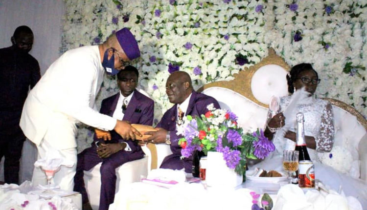 Acting Chief Judge of Cross River State remarries almost 2 years after his late wife's death (photos)