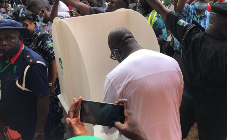 BREAKING: Obaseki wins polling unit