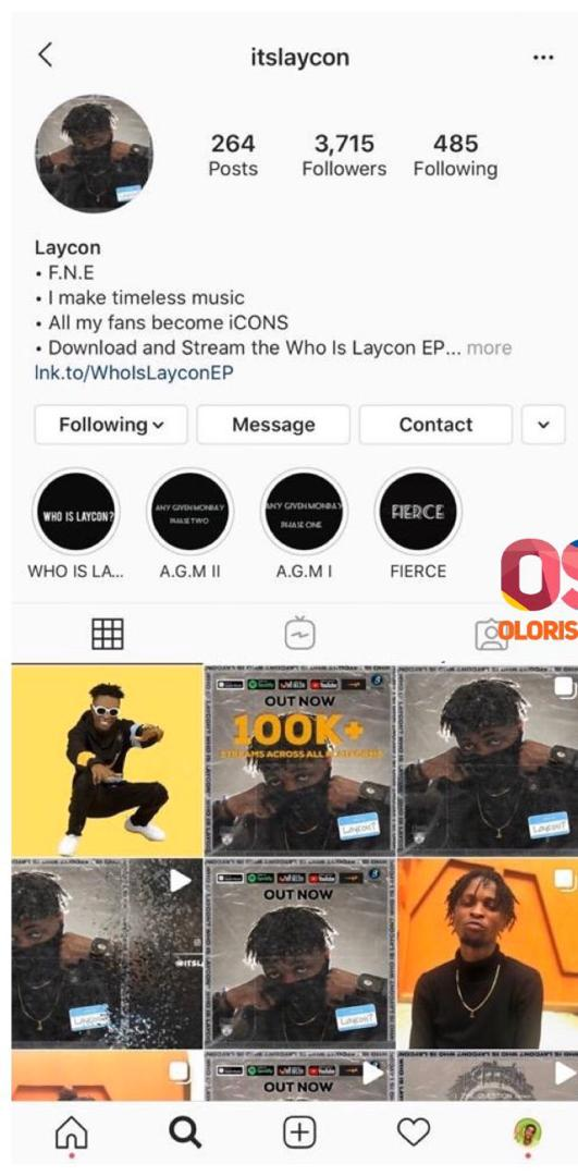 Laycon makes history; becomes first ever BBNaija housemate to get 1m followers while still in the house