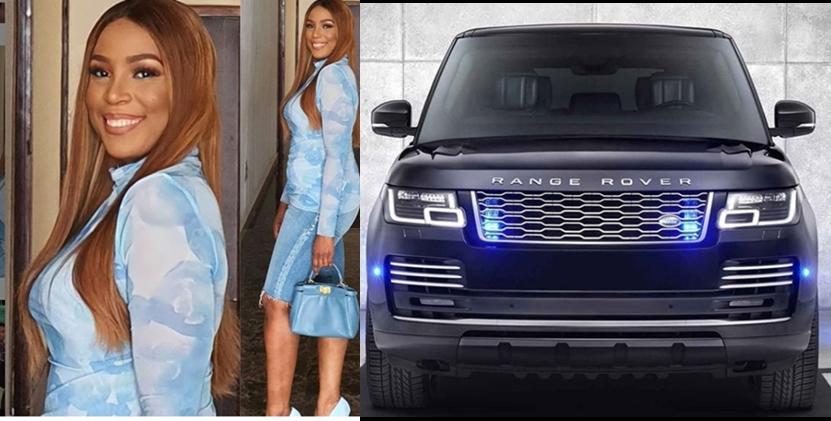 Linda Ikeji gifts self 2020 Range Rover Autobiography on 40th birthday (photo)