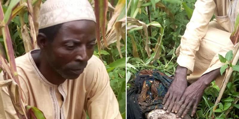 Man arrested in Bauchi for burying his newborn grandchild alive