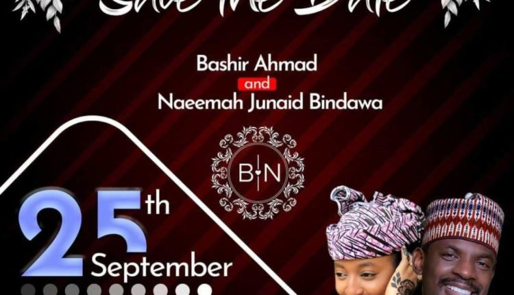 President Buhari's media aide, Bashir Ahmad set to wed