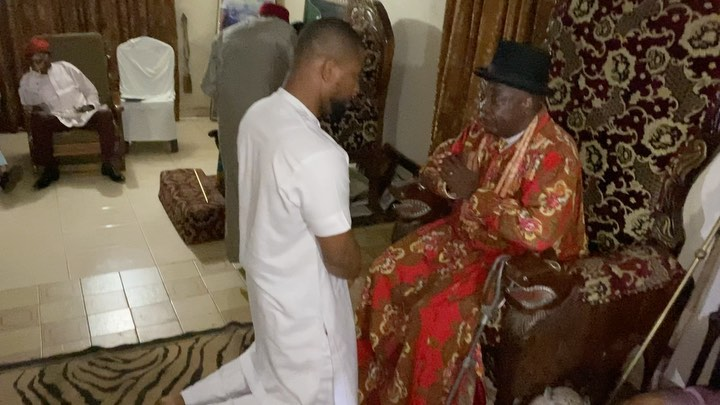 Alexx Ekubo gets Chieftaincy title in Imo (Video)