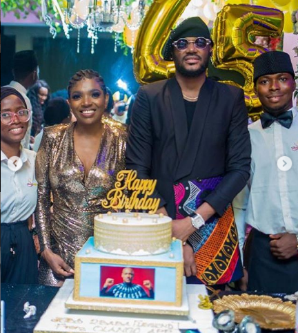 How 2face Idibia's wife, Annie and his 2 baby mama's planned a surprise Birthday party for him