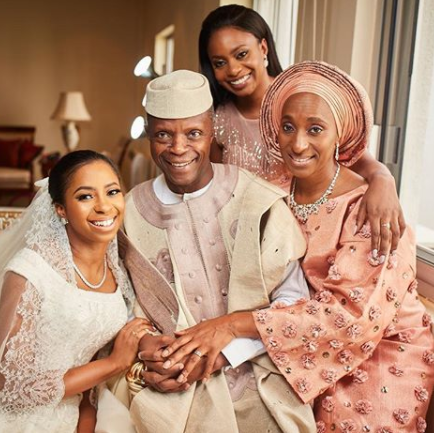 Vice president of Nigeria, Yemi Osinbajo's daughter welcomes baby boy