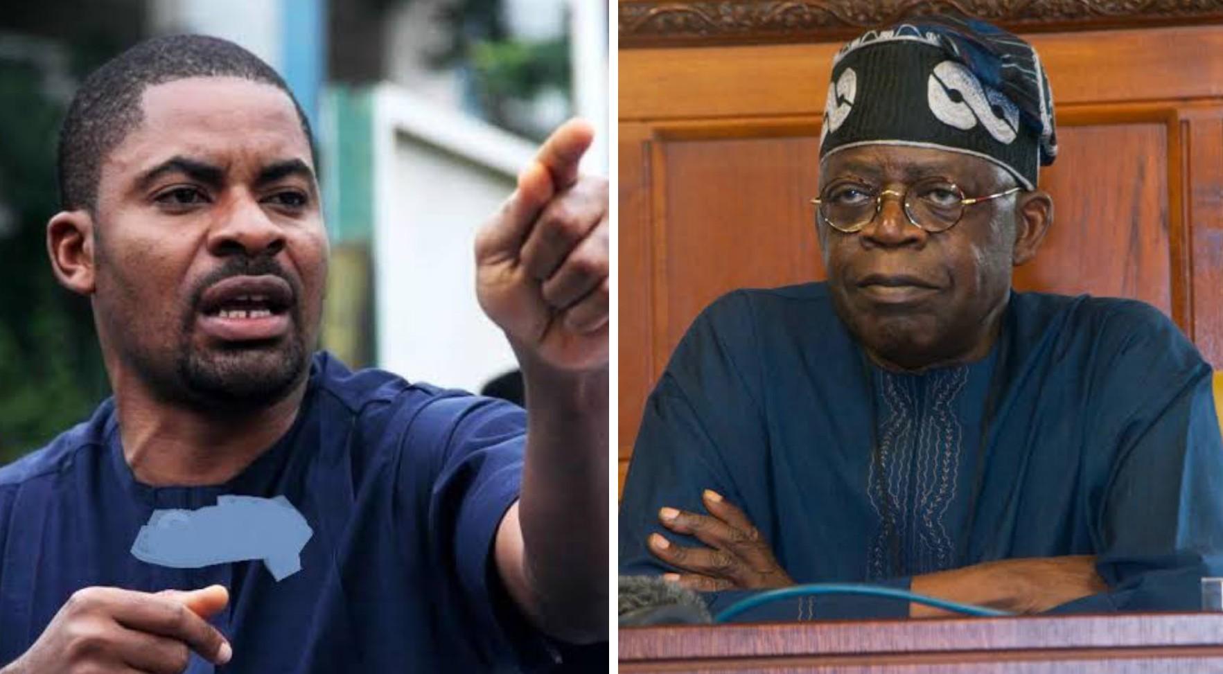 2023: Tinubu's political career will end if he contests presidential election, says Deji Adeyanju