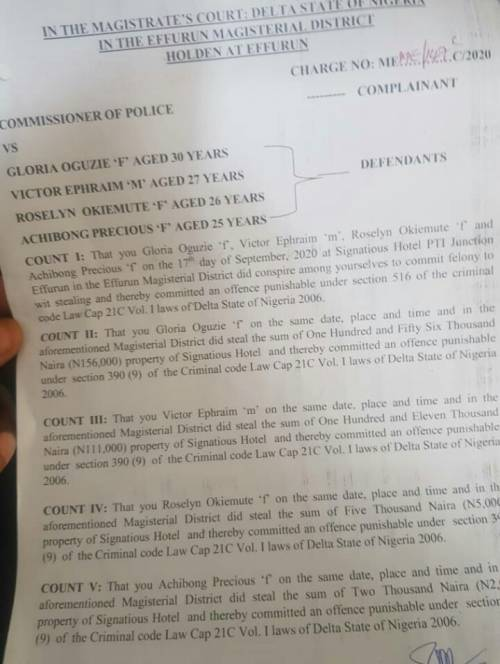 Ex-Nigerian Minister, Kenneth Gbagi, Arrests Hotel Staff, Strip Them Naked For Allegedly Stealing N5,000