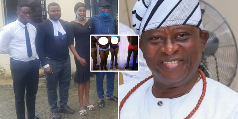 Ex-Nigerian Minister, Kenneth Gbagi Arrests Hotel Staff, Strips Them Naked For Allegedly Stealing N5k (Photo)