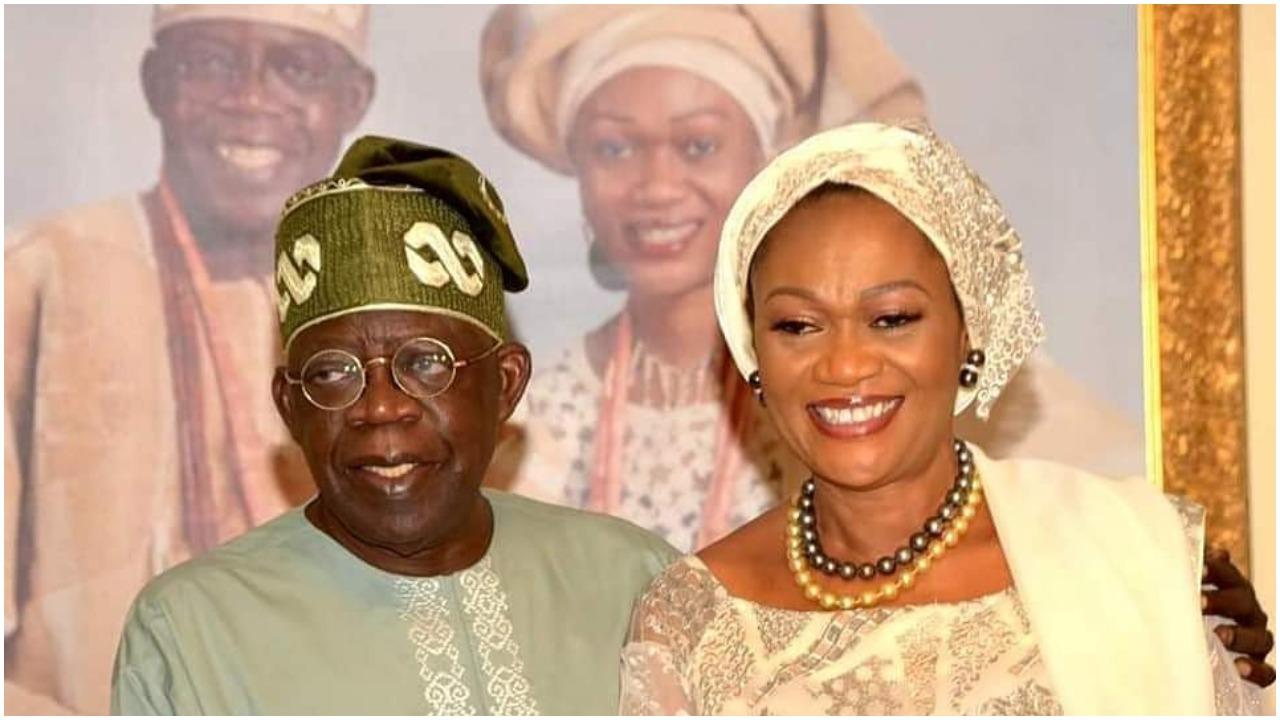 Nigerians react as photos of Remi Tinubu's 60th birthday dominates Nigerian News papers