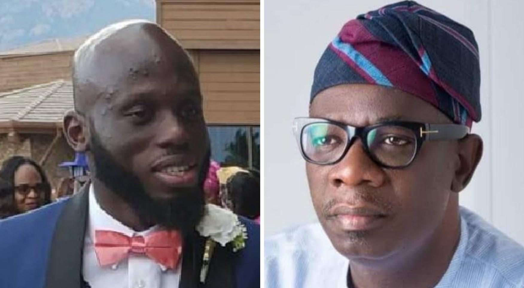 Akeredolu's son threatens to drag Ondo deputy gov to court over N4.3bn secret account allegations