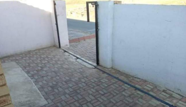 Family left in shock after their house gate gets stolen