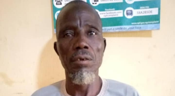Police arrest man 60, for raping neighbor's 5-year-old daughter in Bauchi