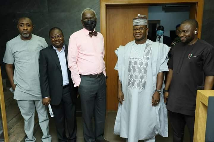 Yahaya Bello visits Fashola, reveals cause of  Lokoja tanker explosion