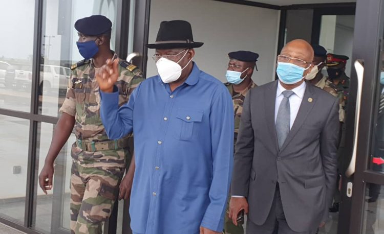 Again, Jonathan returns to Mali for consultations