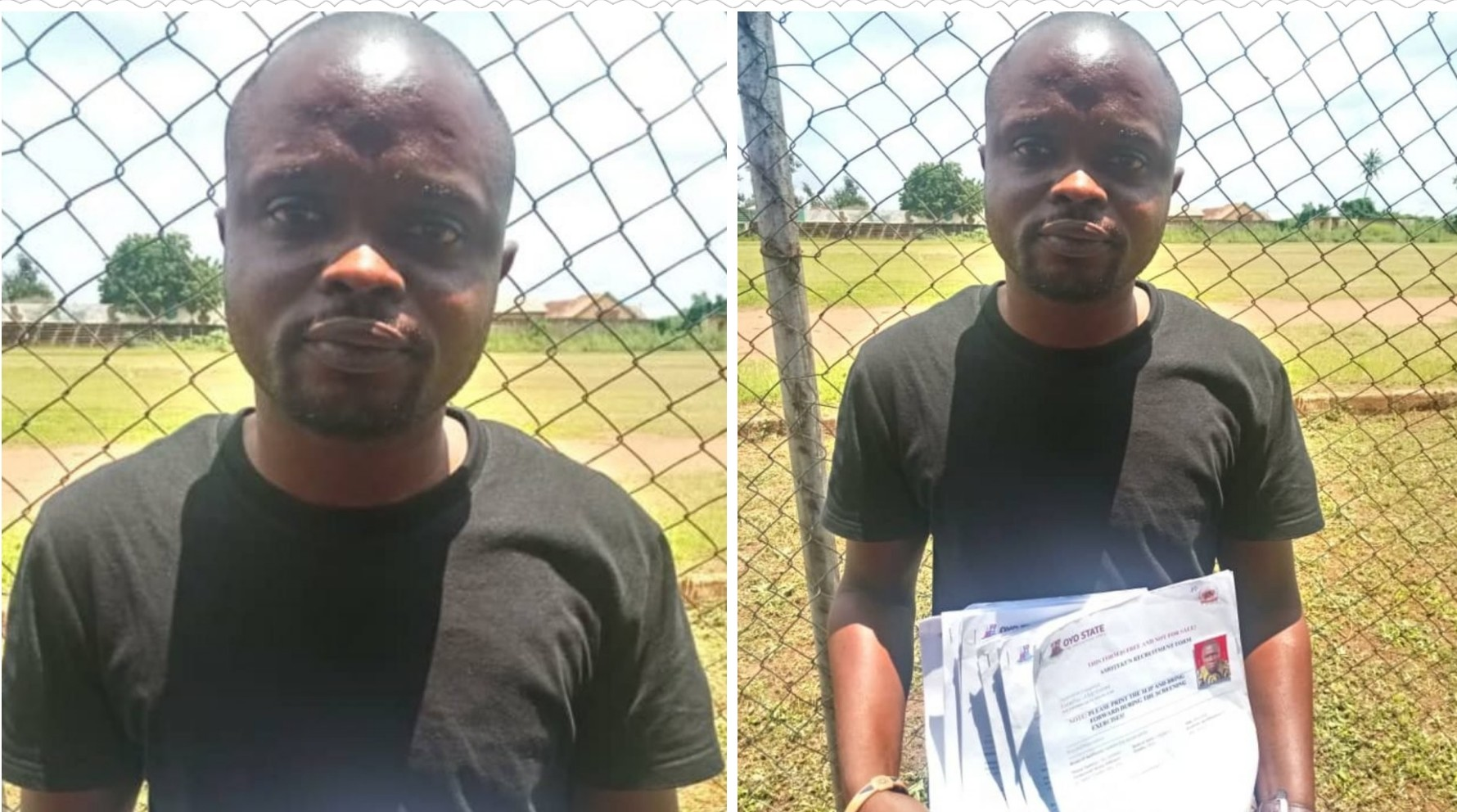 Another fake Amotekun recruitment officer arrested in Oyo