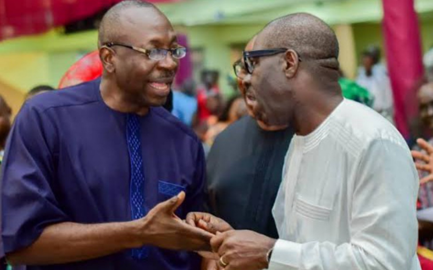 Edo election: I've realized my mistakes, please return to APC – Ize-Iyamu woos Obaseki
