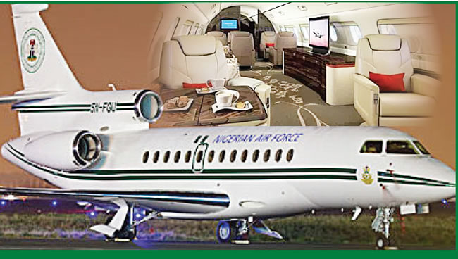 FG Puts 9-Seater Presidential Jet Up For Sale, 'To Cut Down On Waste'