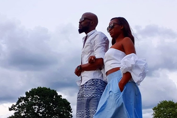 Rapper Ikechukwu shows off his woman