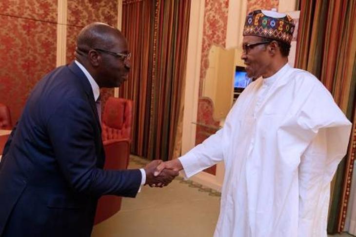 Buhari said he congratulated me reluctantly - Obaseki