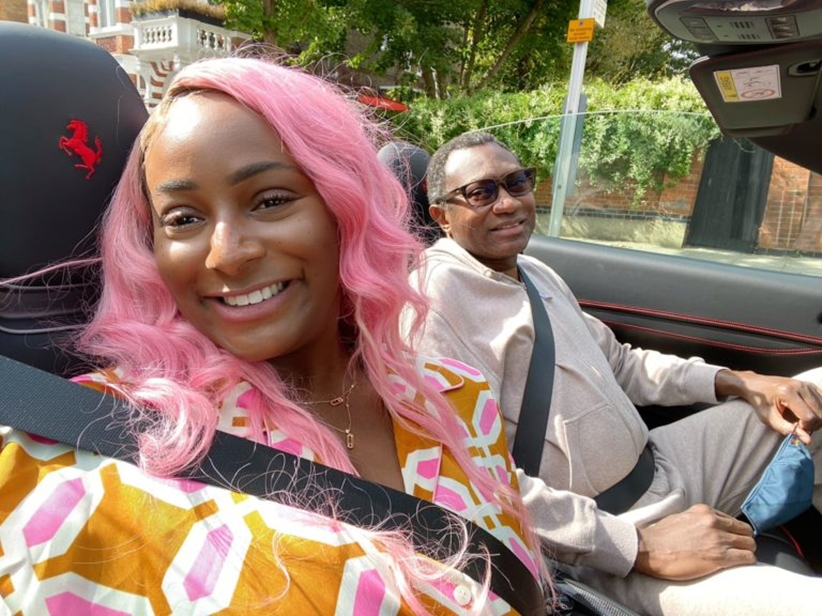 Hard work got me where I am today, not my dad – DJ Cuppy
