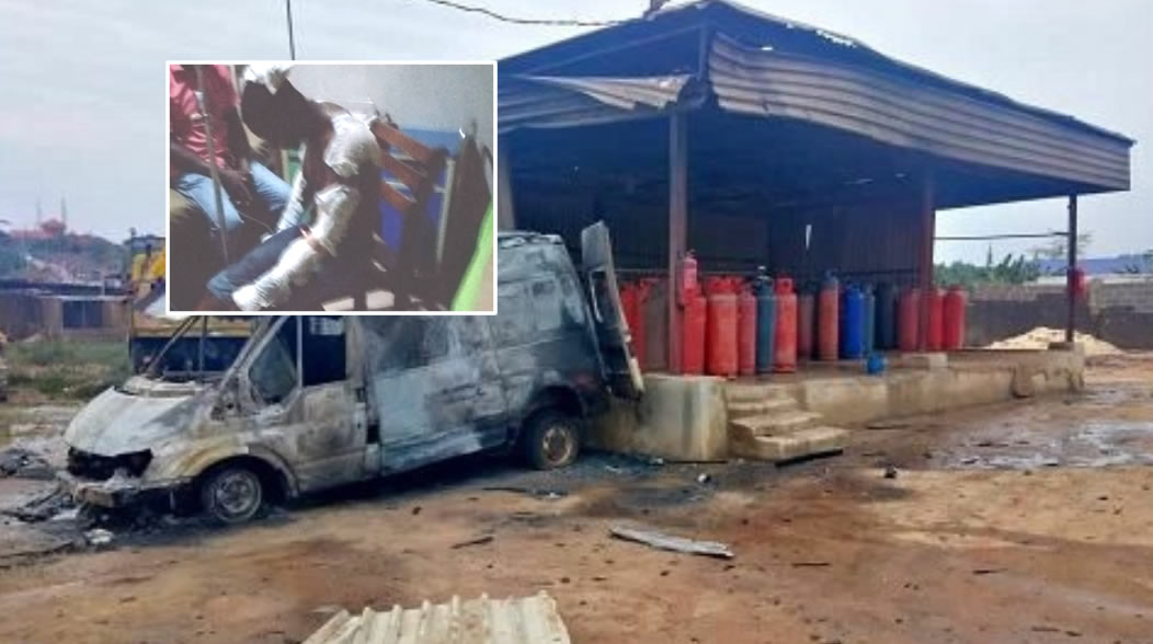 Lagos Gas Explosion: Survivor recounts moment of incident; Tanker Driver in LASUTH ICU