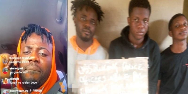Music producer, Superwozzy was arrested with charms and Indian hemp - Lagos police reacts to harassment allegation