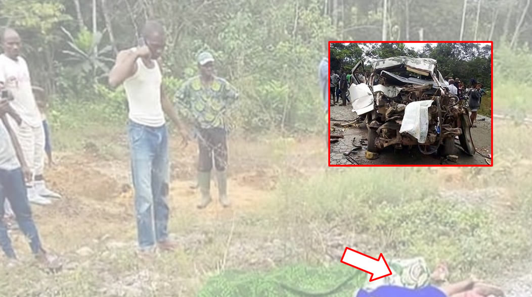 PHOTOS: 11 funeral attendants die in fatal auto crash along Calabar-Ikom road