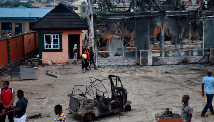 PHOTOS: How 'fight' at gas plant caused explosion that killed 3, injured 30, razed 23 buildings in Lagos