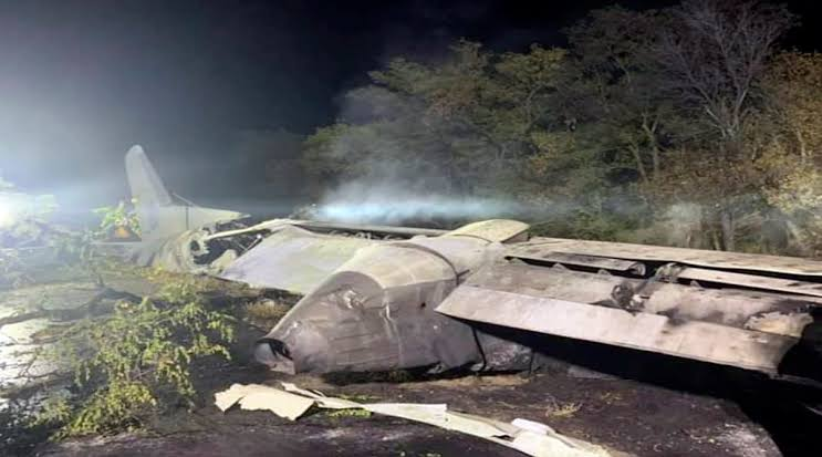 22 persons killed as military aircraft crashes in Ukraine