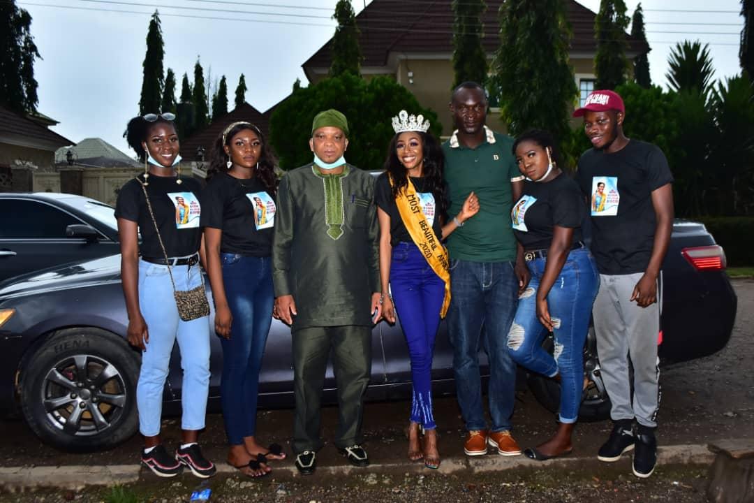 "Beauty Queen, Felicia Boko kicks off ""Back to School"" campaign to mark birthday"