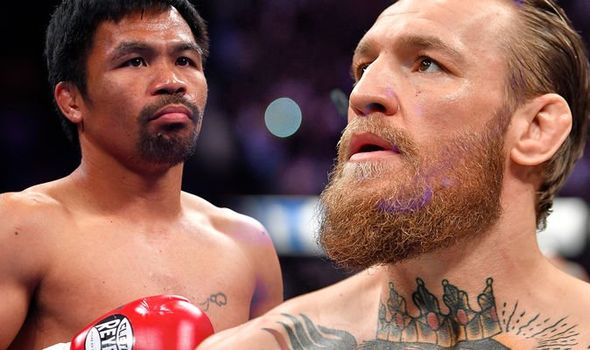 Boxing Legend Pacquiao Declares Intention To Fight NMA Star McGregor
