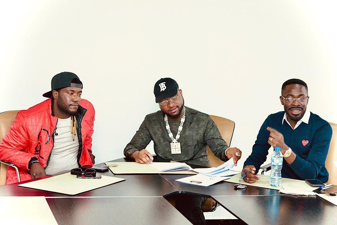 Davido signs new artiste to record label