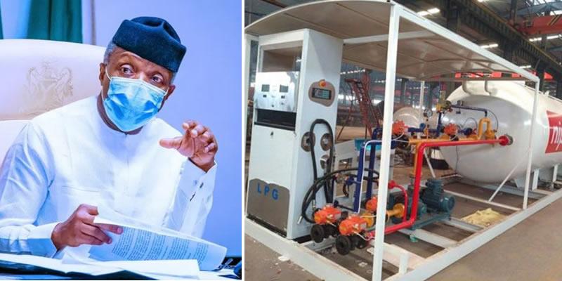 Nigeria will focus on auto gas as alternative to petrol, says Osinbajo