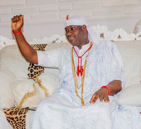 Ooni Of Ife exalts Oduduwa as Olojo festival holds