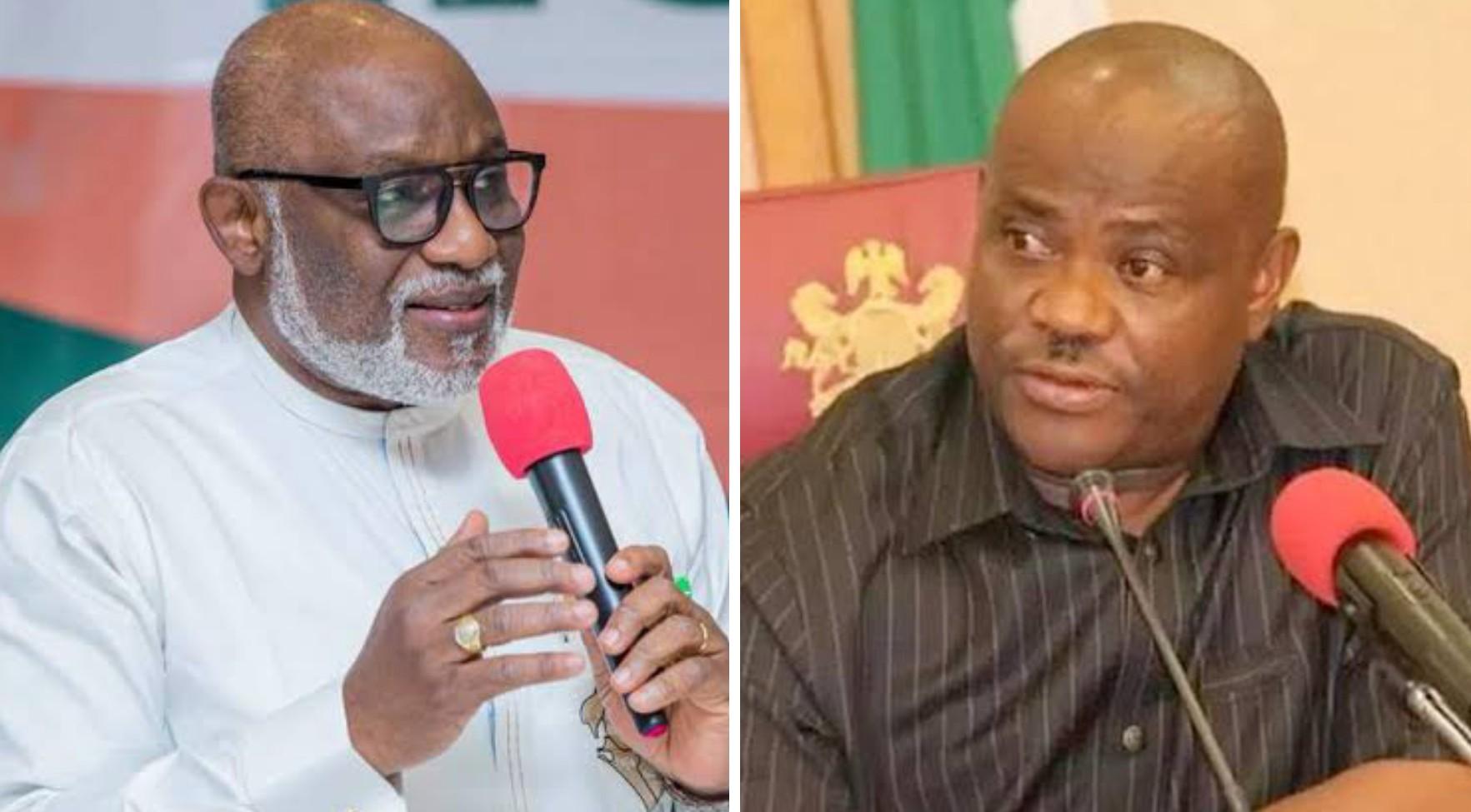 """We don't allow godfathers in Ondo"", Akeredolu warn Wike ahead of election"