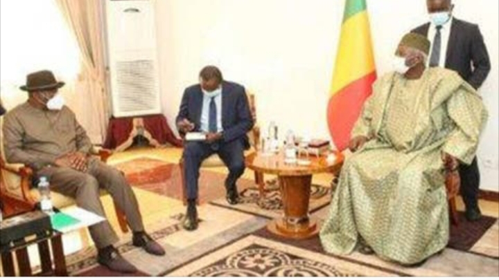 MALI CRISIS: Designated interim president meets Jonathan on eve of swearing-in