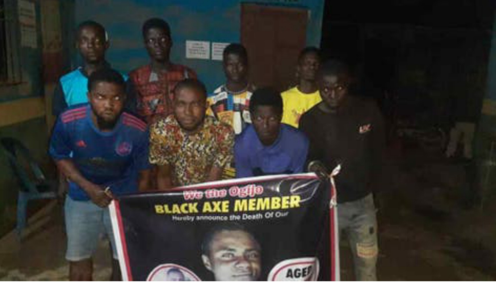 Police arrest eight suspected cultists while mourning dead colleague in Ogun
