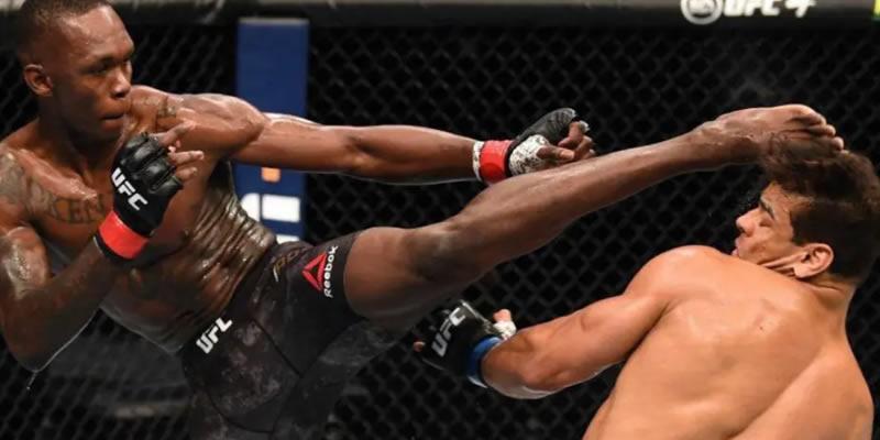 VIDEO: Israel Adesanya defeats Paulo Costa with TKO in UFC253