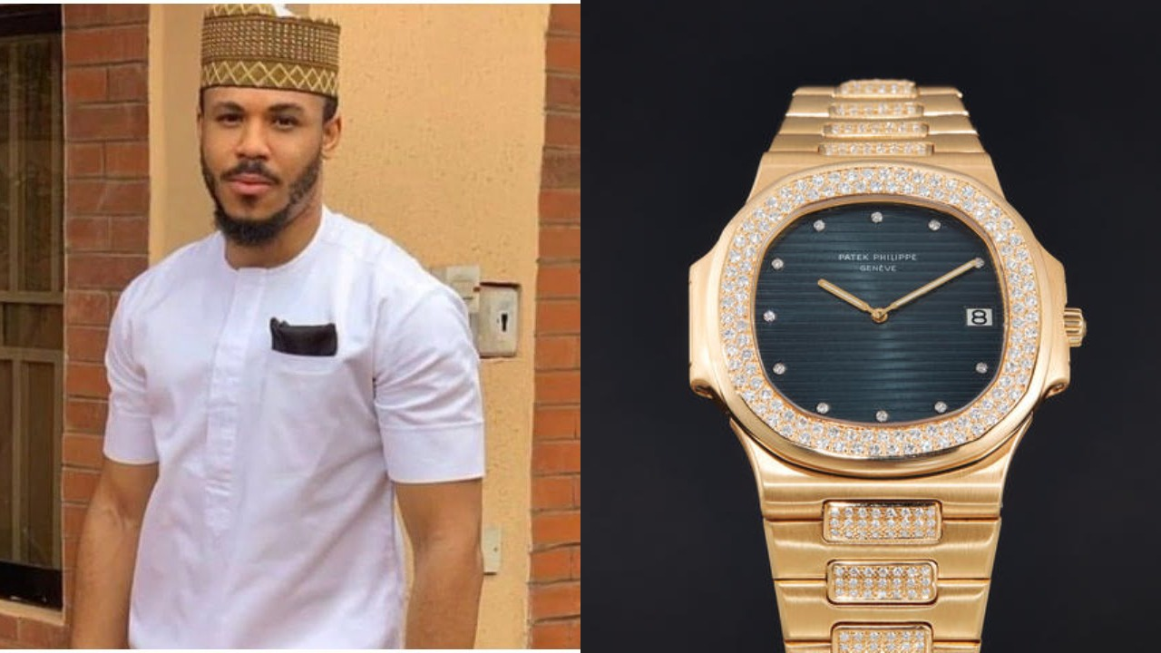 Fans gift BBNaija star, Ozo a wristwatch worth millions of Naira, Nigerians react