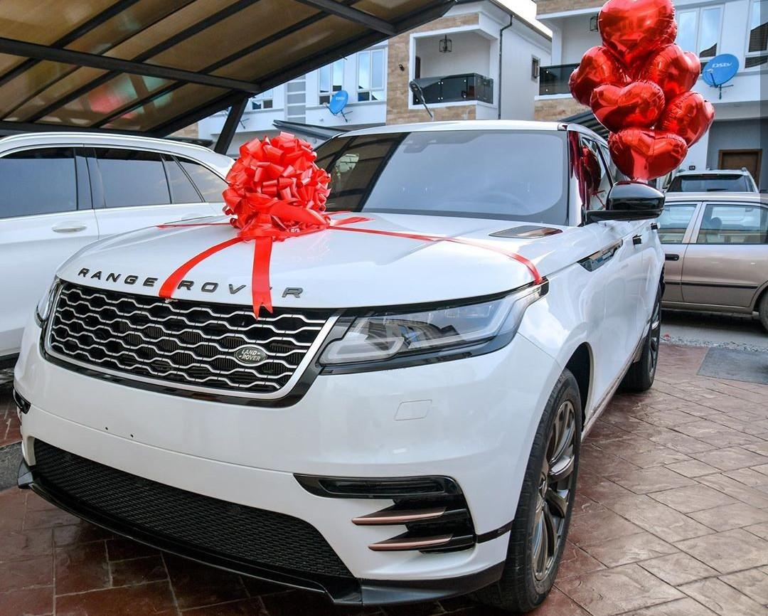Mercy Eke gifts herself a Range Rover Velar to celebrate 27th birthday