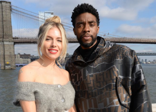 Sienna Miller reveals how late Chadwick Boseman took a pay cut to increase her salary on '21 Bridges'