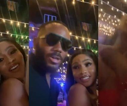 """Kill me, choke me"" – Mercy Eke gushes over Kiddwaya during her birthday party (Video)"