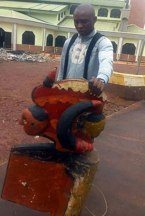 Police apprend middle-aged man for 'arresting a god' in Nsukka