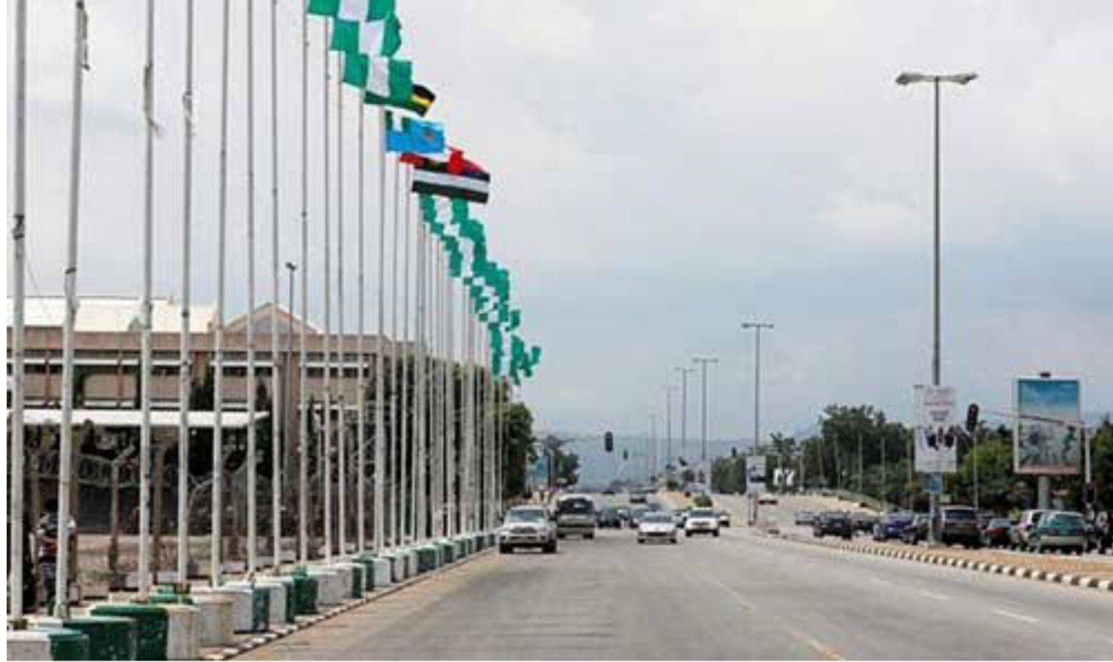 60th anniversary: Tight security as Buhari attends parade at Eagle Square