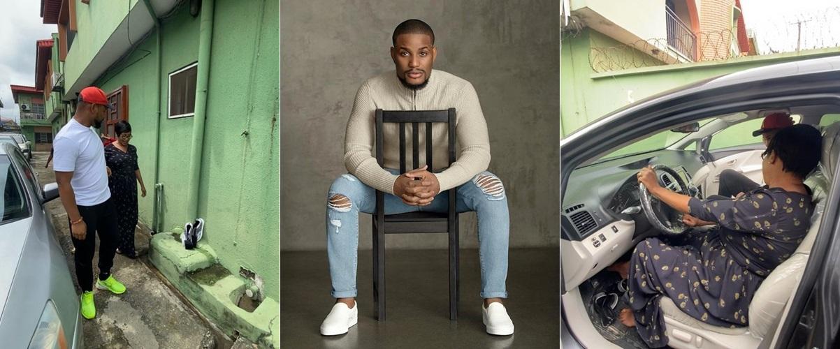Alexx Ekubo gifts his mum a car (Video)
