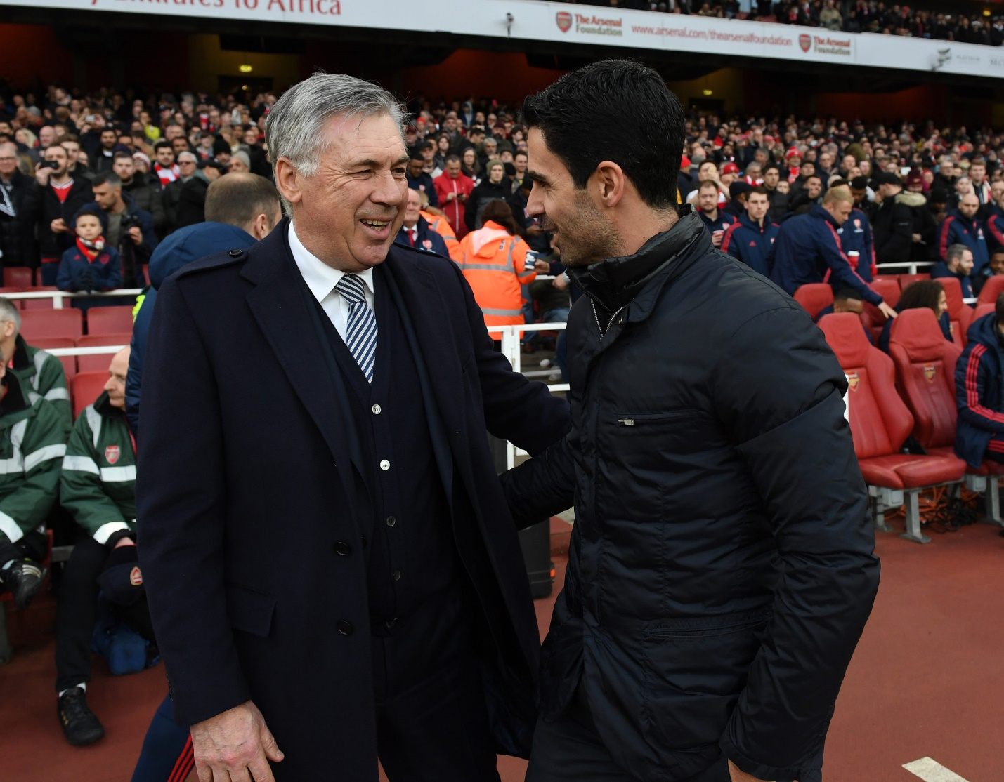 Arsenal and Everton: what have Mikel Arteta and Carlo Ancelotti changed?
