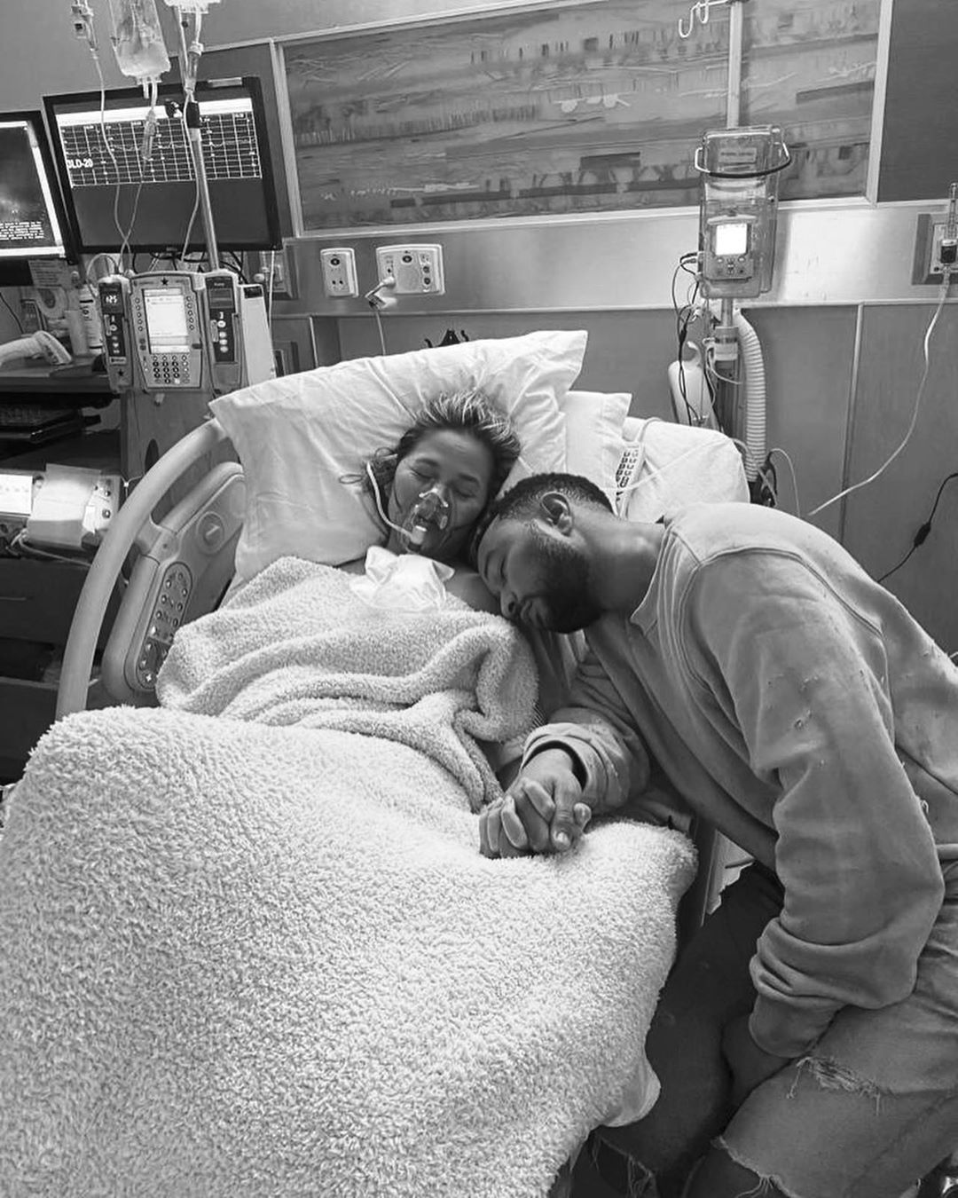 John Legend and wife, Chrissy Teigen, mourn as they lose newborn son moment after birth